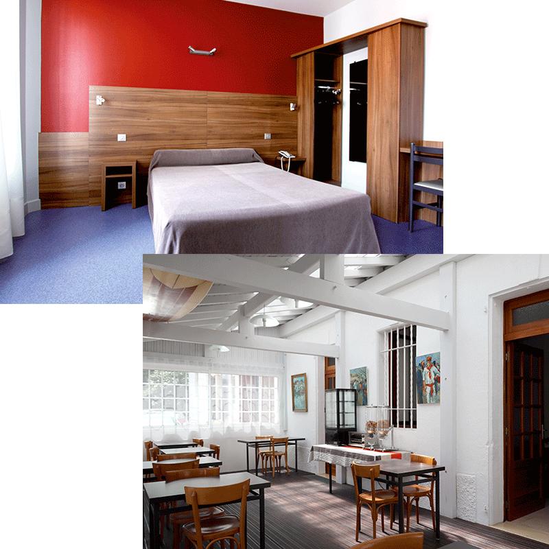 Hotel Barnetche - Stanza y Prima colazione