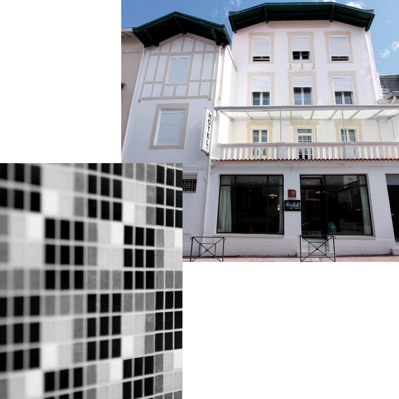 hotel barnetche - Entrée & détails mosaïque