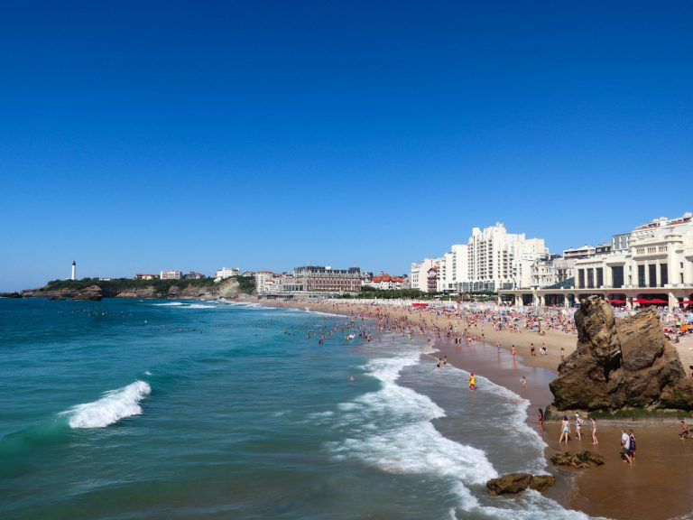 Biarritz - La grande plage