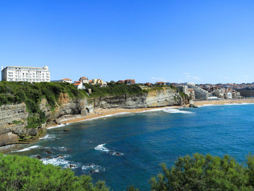 Biarritz - vue du phare